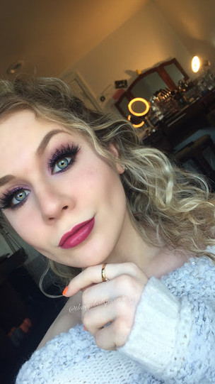 Disney's Elsa Inspired Makeup