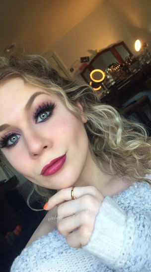 Disney's Elsa Inspired Makeup
