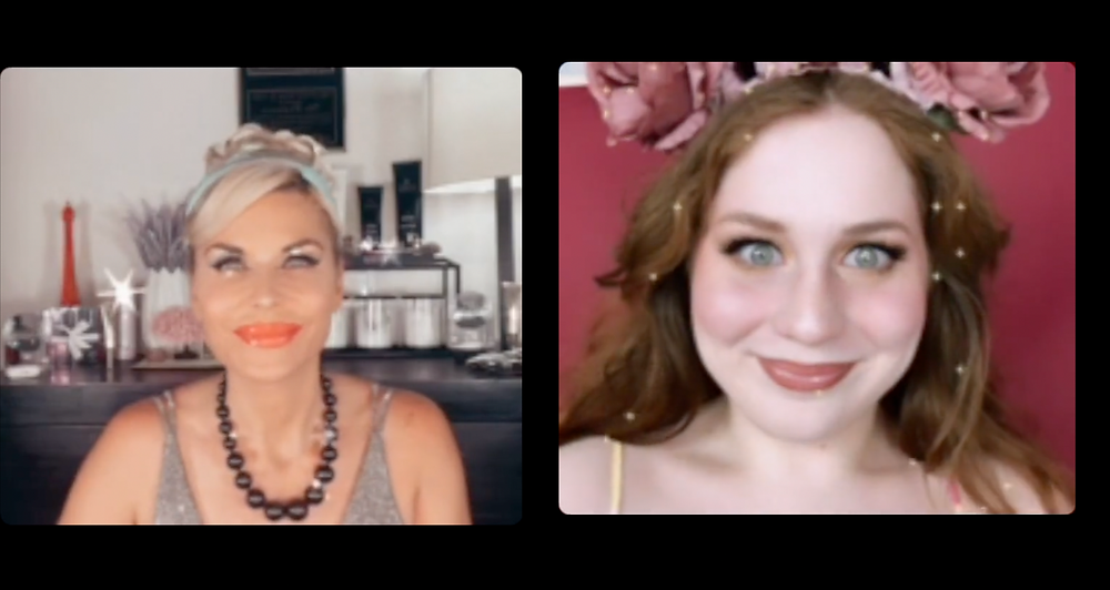 Lillee Jean went live with Mckenzie Westmore, for a Disney Princess Instagram Live collab! Mckenzie was Cinderella, and LJ was Belle!