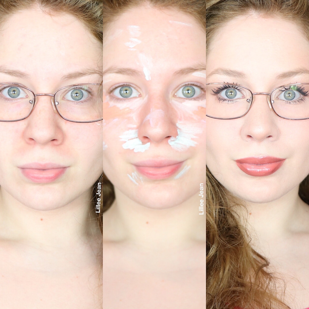 Look Awake | Everyday Color Correcting & Makeup FOR Glasses Tutorial 2020 | Lillee Jean