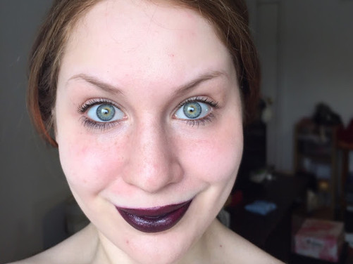 Marvel's Power Infinity Stone #5 Inspired Makeup Look