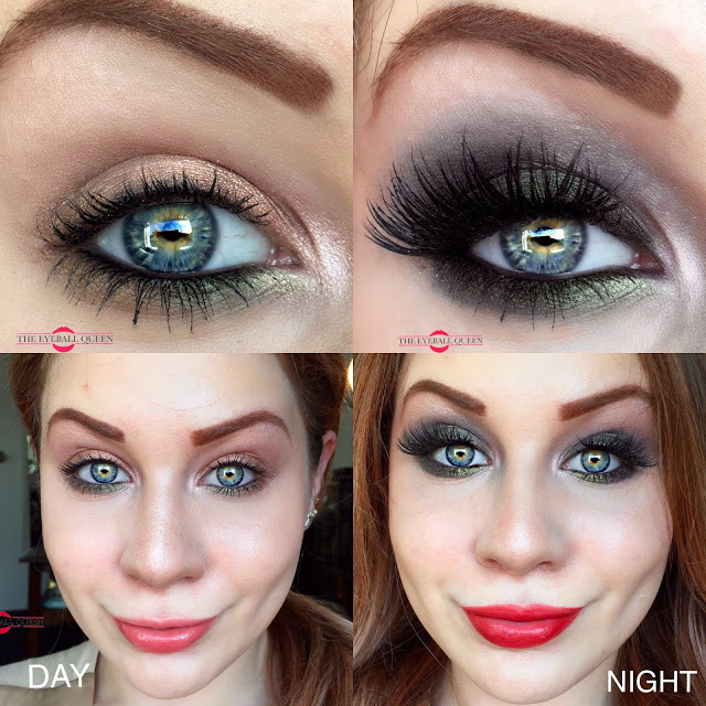 Transition Into Autumn: Day to Night Olive Smokes Makeup Tutorial 2016 | Lillee Jean
