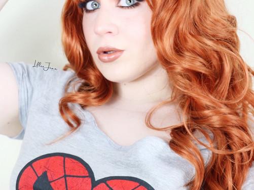 Spiderman Mary Jane Watson Makeup Tutorial 2021 | Lillee Jean