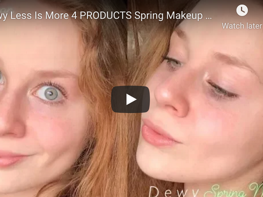 Dewy Less IS More Spring Makeup Tutorial | Lillee Jean