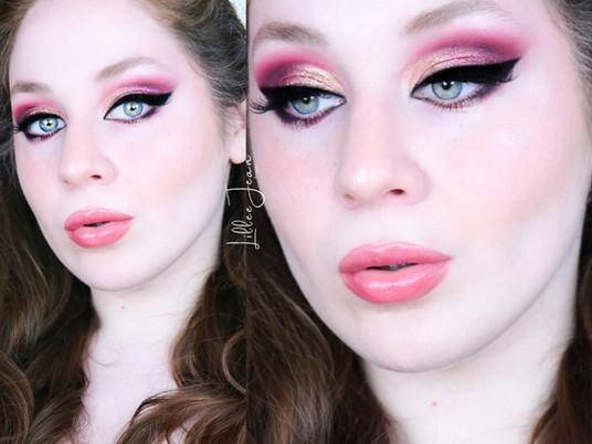 Golden Red Eyeshadow Makeup Tutorial | Nyx Ultimate Edit Phoenix 2021 | Lillee Jean