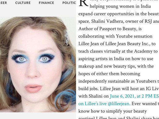 Lillee Jean SWAAY Article - Teaching to JumpStart Health and Beauty Careers