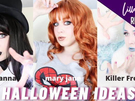 Halloween Makeup Ideas 2021 - Zatanna, Mary Jane Watson, Killer Frost | Lillee Jean Compilation