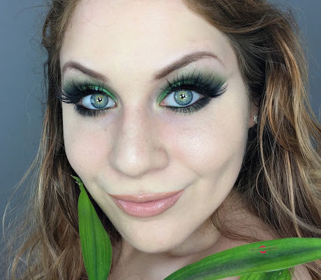 New Years Eve: Pantone Color of 2017 Greenery Shimmering Smokey Eye Makeup Tutorial