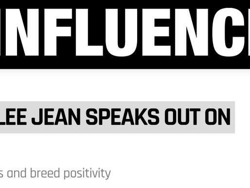 Lillee Jean Featured in Influencive.com: FAMOUS YOUTUBER LILLEE JEAN