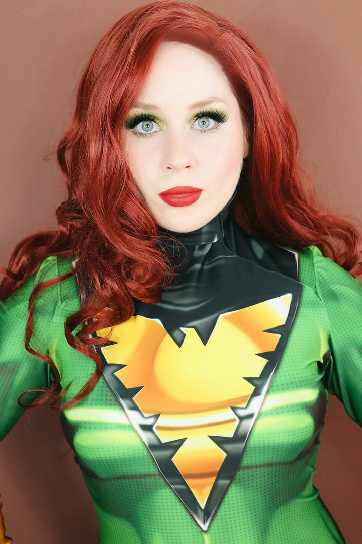 Lillee Jean MARVEL JEAN GREY COSPLAY