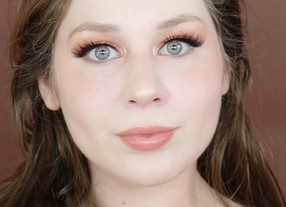 Karity Spring Peachy Orange Makeup Tutorial 2020 | Lillee Jean