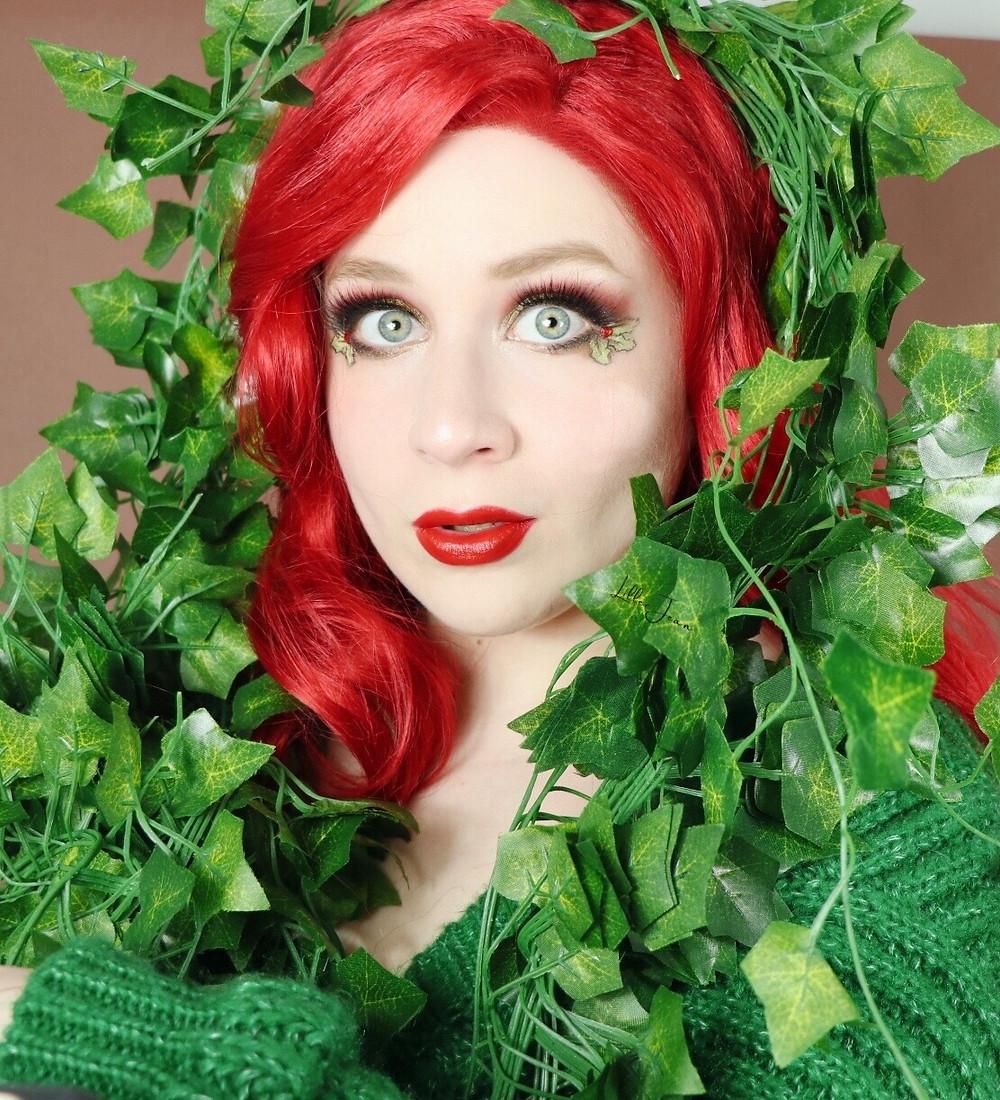 Poison Ivy Makeup MISTLETOE Eyeliner | DC Comics 2020 | Lillee Jean