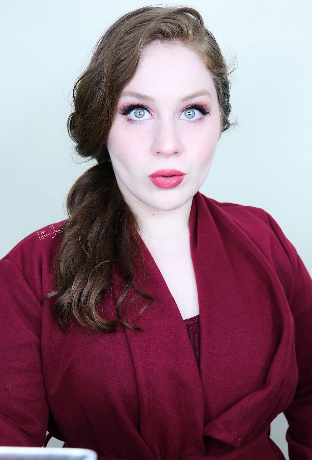 Rose Makeup   Makeup Revolution Forever Flawless AUTUMN Tutorial 2021   Lillee Jean