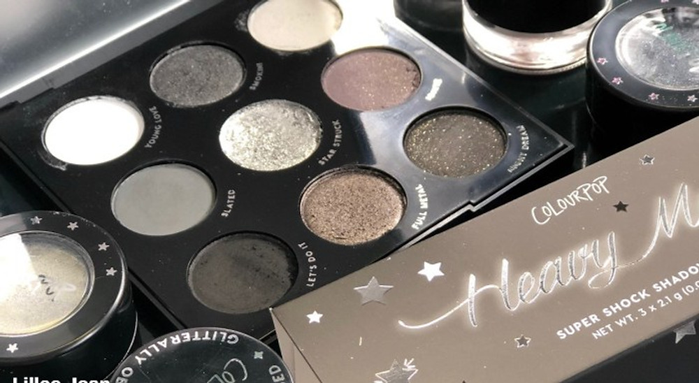 NEW Colourpop SMOKE SHOW Black and White Collection SWATCHES | Lillee Jean