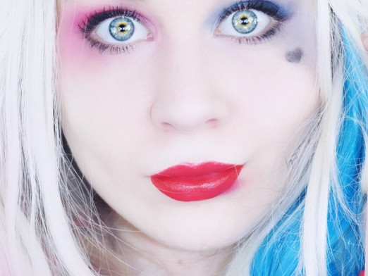 Harley Quinn Makeup Tutorial Halloween 2019 | Lillee Jean