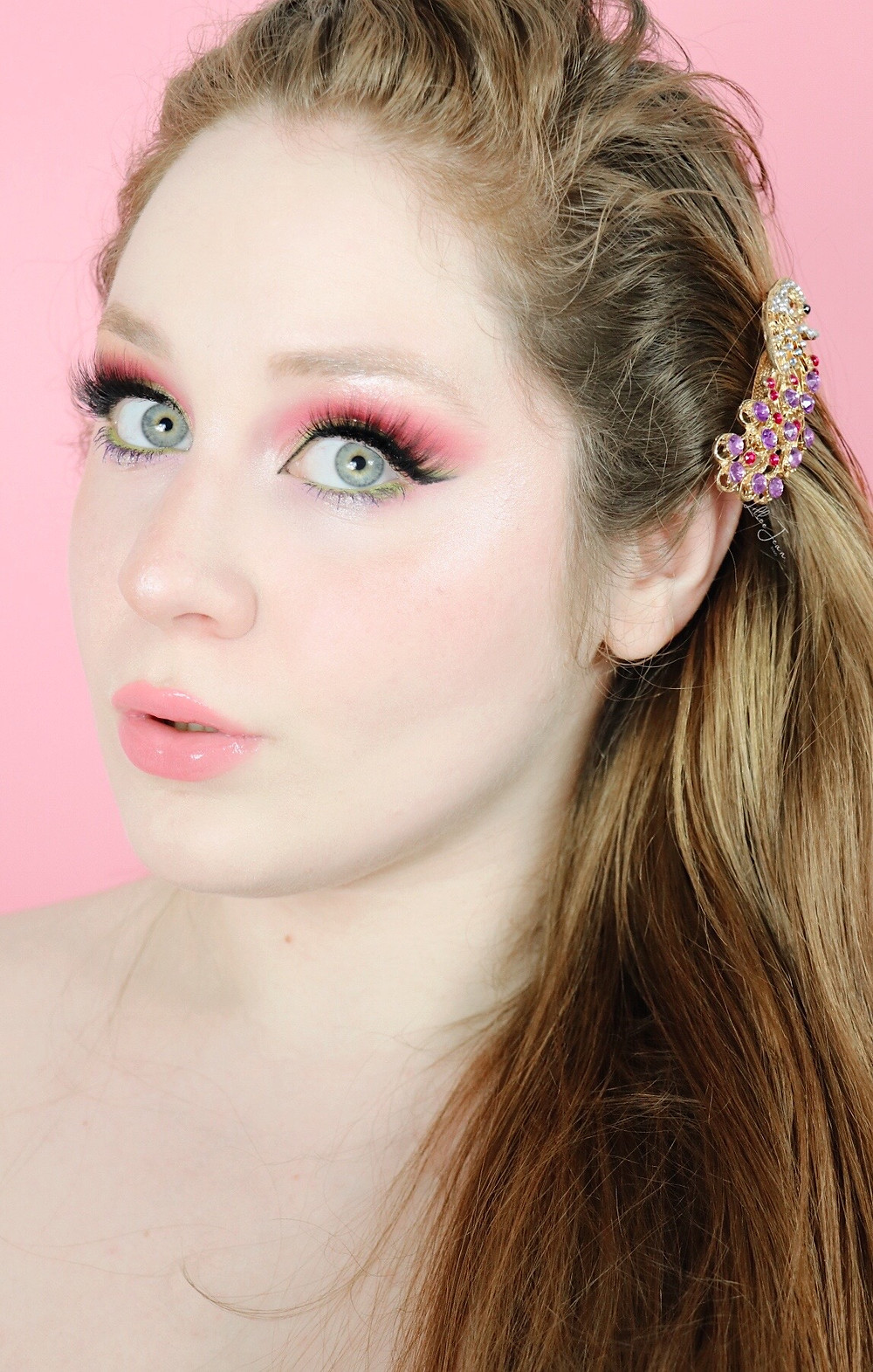 Lillee Jean glowy Spring skin and makeup