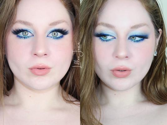 Russian Blue Eyeliner Sephora PRO Editorial Makeup Tutorial 2021 | HERITAGE SERIES | Lillee Jean
