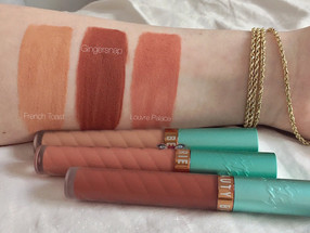 Beauty Bakerie Cosmetics Lip Whips Review w/ Swatches (Gingersnap, French Toast, Louvre Palace)