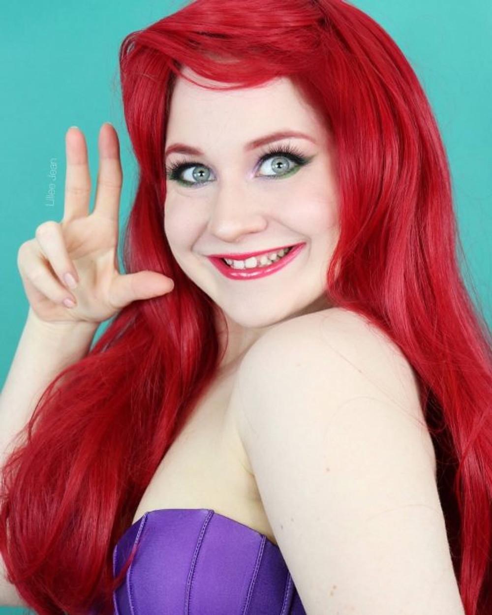 Disney Ariel The Little Mermaid Makeup Tutorial Cosplay 2020   Lillee Jean