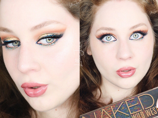 Urban Decay Wild West Peacock Makeup Tutorial 2021 | Lillee Jean