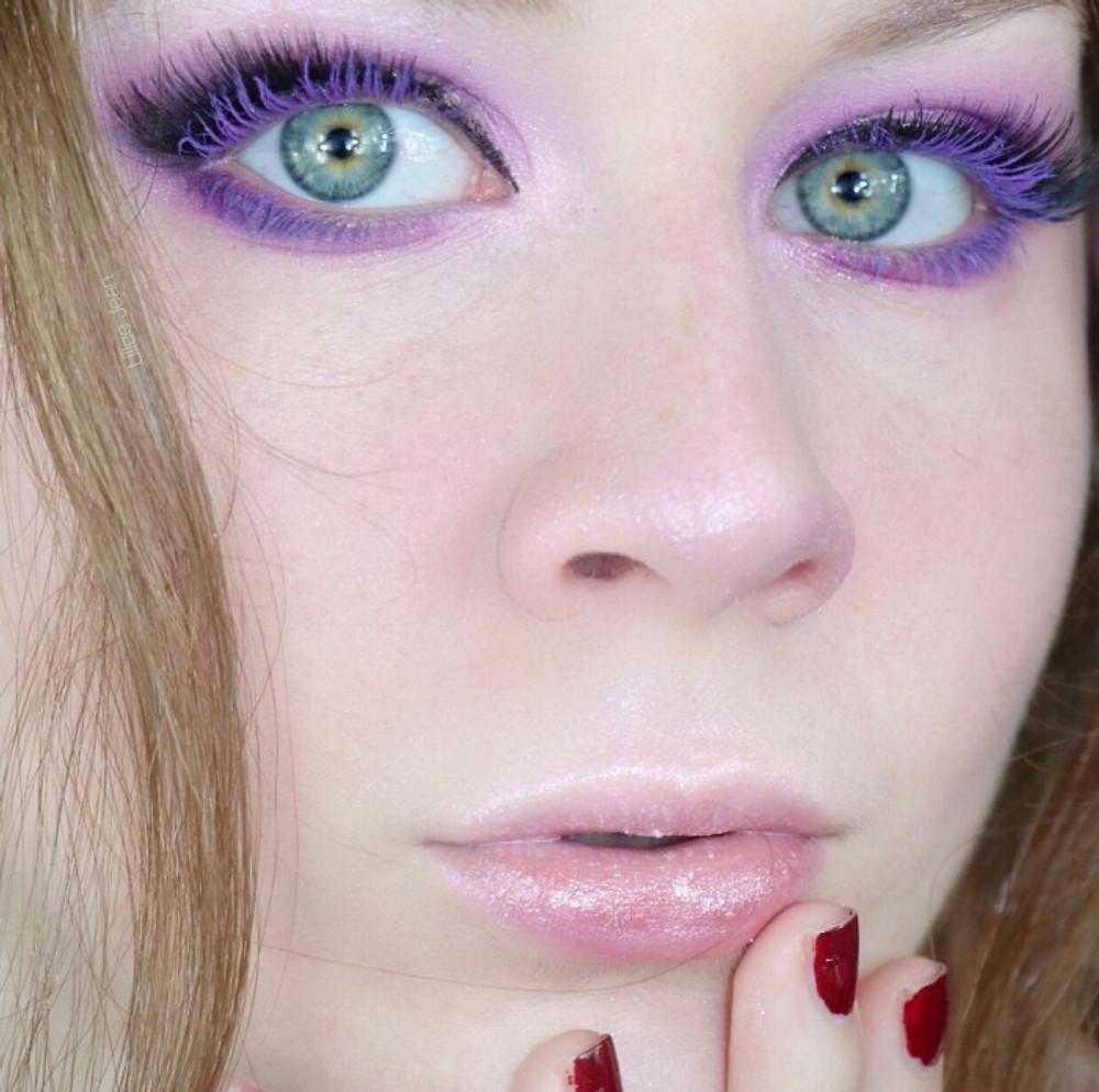 Colourpop Lilac You A Lot Purple Mascara Smokey Eye Makeup Tutorial | Lillee Jean