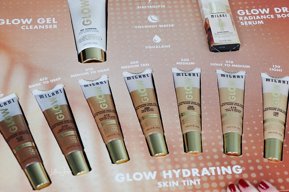 Milani Glow Hydrating Skin Tint Collection Review 2021 | Lillee Jean