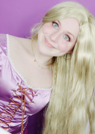 Lillee Jean Disney Princess Rapunzel Cosplay