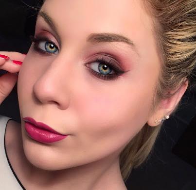 Cranberry Smokey Makeup Tutorial
