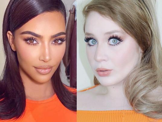 Kim Kardashian Inspired Wearable Soft Glam Makeup Tutorial 2021 | Lillee Jean