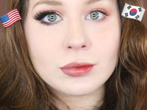 Korean Makeup VS American Makeup Tutorial 2020 | Lillee Jean