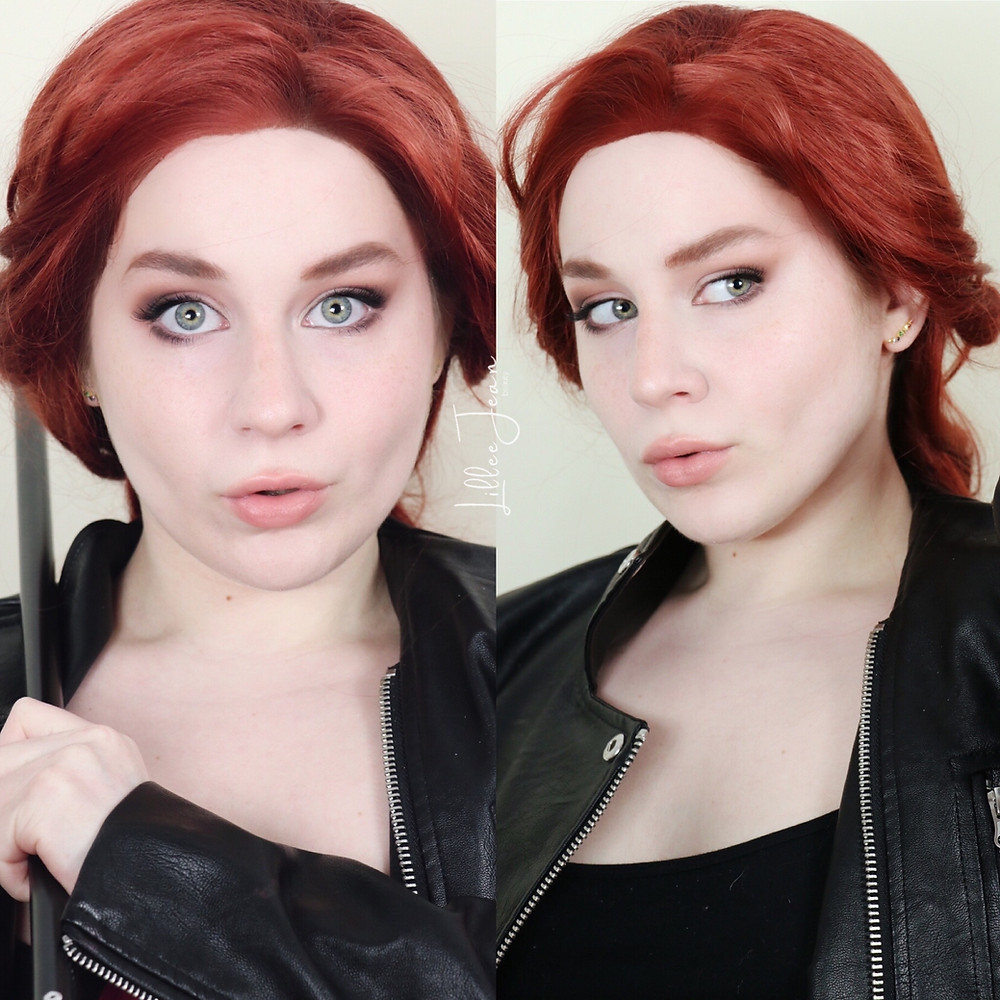 Black Widow Makeup 2021 | Tartelette In Bloom | Marvel Cosplay | Lillee Jean
