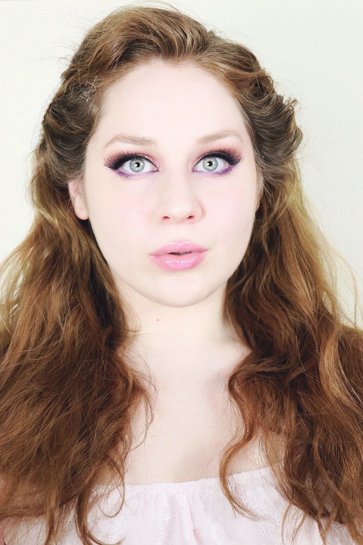 Makeup Revolution Chilled Purple Pop Spring Makeup Tutorial 2021 | Lillee Jean