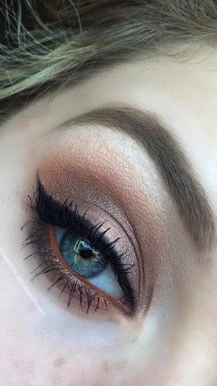 Autumn Crisp Eye Makeup