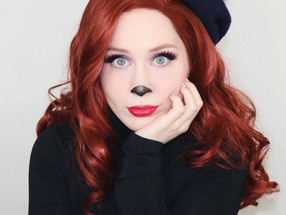 Beret Girl Extremely Goofy Movie MAKEUP TUTORIAL Disney 2020 | Lillee Jean