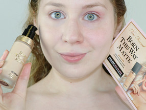 Too Faced Born This Way MATTE Foundation in SWAN REVIEW 2020 | Lillee Jean