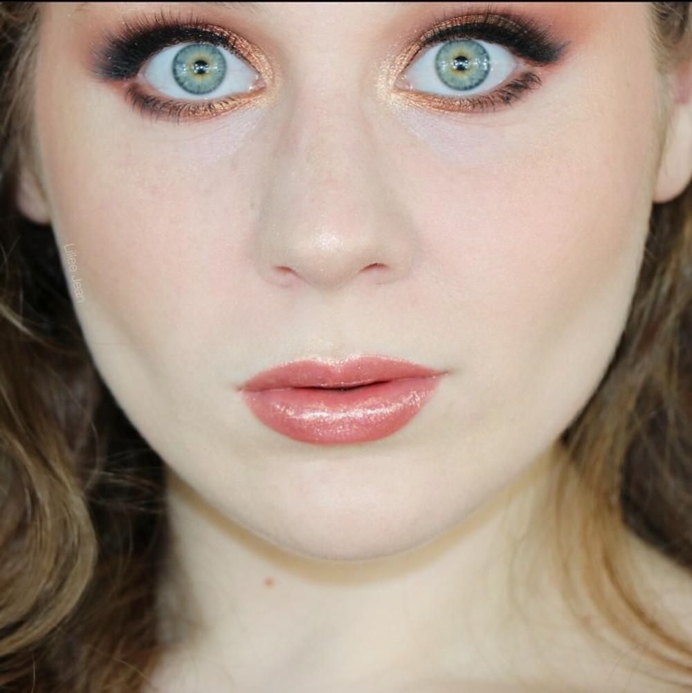 GRWM Karity Picante Warm Bronze Thanksgiving Autumn Makeup Tutorial | Lillee Jean