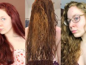 Red To Blonde Hair Color IN ONE WEEK VLOG 2020   Lillee Jean
