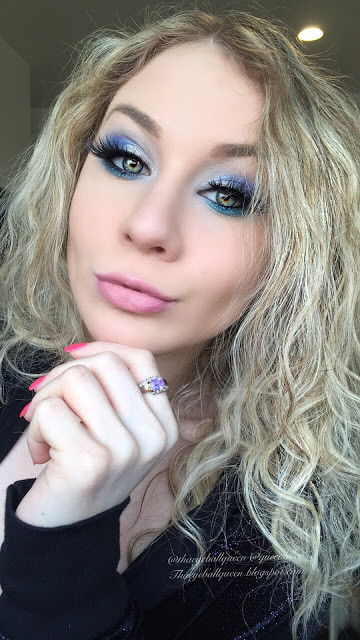 Lillee Jean IcLillee Jean Icy Blue Winter Makeup Tutorial 2015 | Lillee Jean y Blue Winter Makeup Tutorial 2015