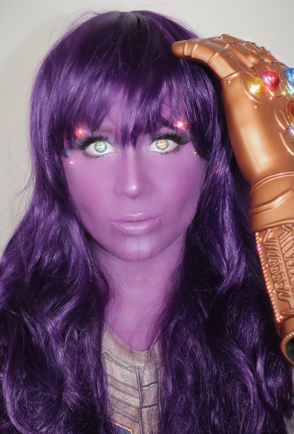 Marvel Thanos Makeup Tutorial Halloween 2020 | Lillee Jean