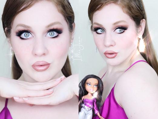 BRATZ Makeup Look | TARTE MANEATER Soft Glam Tutorial 2021 | Lillee Jean