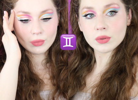 Gemini Zodiac Huda Retrograde Summer Makeup Tutorial 2020 | Lillee Jean