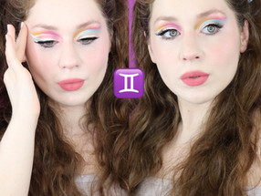 Gemini Zodiac Huda Retrograde Summer Makeup Tutorial 2020 | Lillee Jean