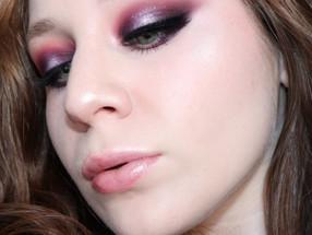 Kesha Rose Beauty NEW YEARS EVE Glittery Purple Halo Eye Makeup Tutorial | Lillee Jean