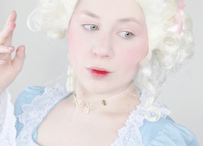 Marie Antoinette Flushed Makeup Tutorial + TRUE STORY | QUEEN OF FRANCE 2020 | Lillee Jean