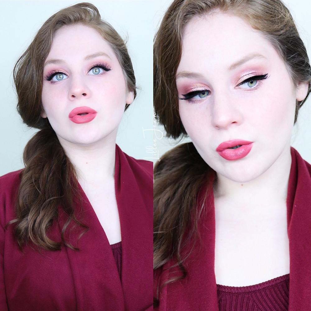Rose Makeup   Revolution Eutopia AUTUMN Tutorial 2021   Lillee Jean