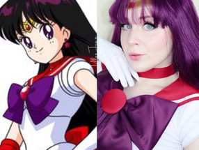 Sailor MARS Cosplay SOFT ROSE GOLD GLAM Makeup Tutorial 2020 | Lillee Jean