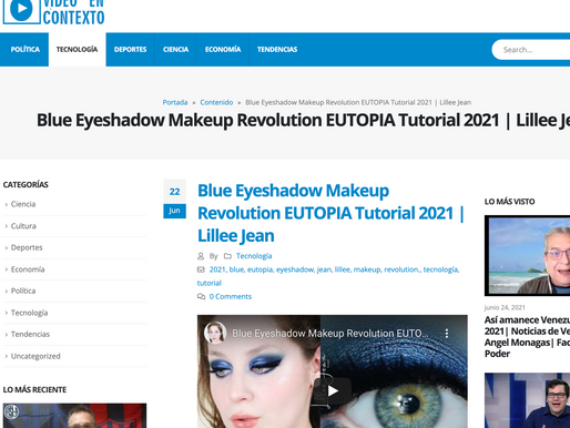 Lillee Jean RSS Feed Mention - Blue Eyeshadow 2021
