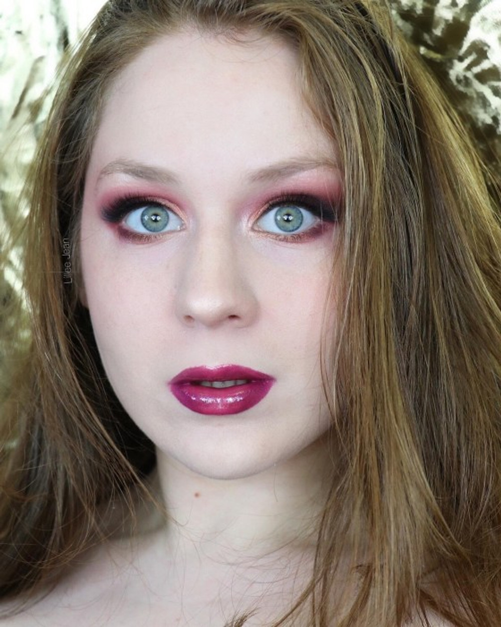 BH Cosmetics Fairy Lights Golden Pink and Purple Makeup Tutorial 2020 | Lillee Jean