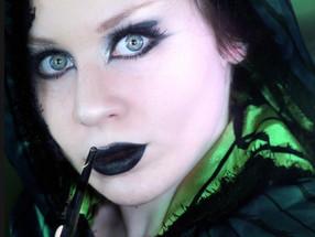 Harry Potter Slytherin Halloween Makeup Tutorial 2019 | Lillee Jean