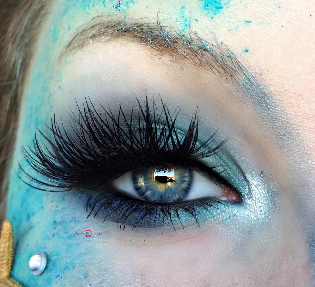 Summery Ocean Nymph Halloween Makeup Tutorial 2016 | Lillee Jean